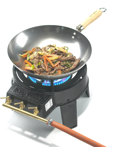Hot wok original komplett set batteripoolen ab for Kochfeld outdoor