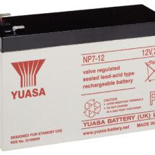 Yuasa industribatteri 5år