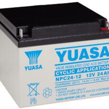 Yuasa cykliska batterier