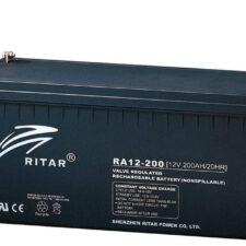 Ritar industribatteri 10år